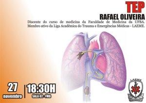 Tromboembolismo Pulmonar - TEP