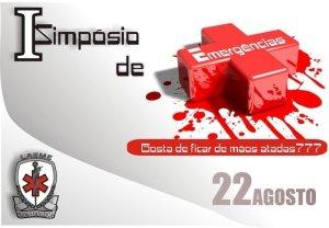 Cartaz de pré-divulgação - I Simpósio de Emergências Clínicas