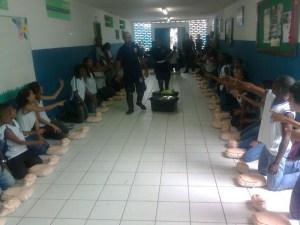 Samu nas Escolas
