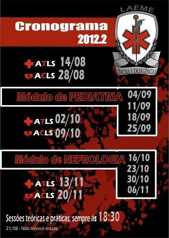 Cronograma LAEME 2012.2