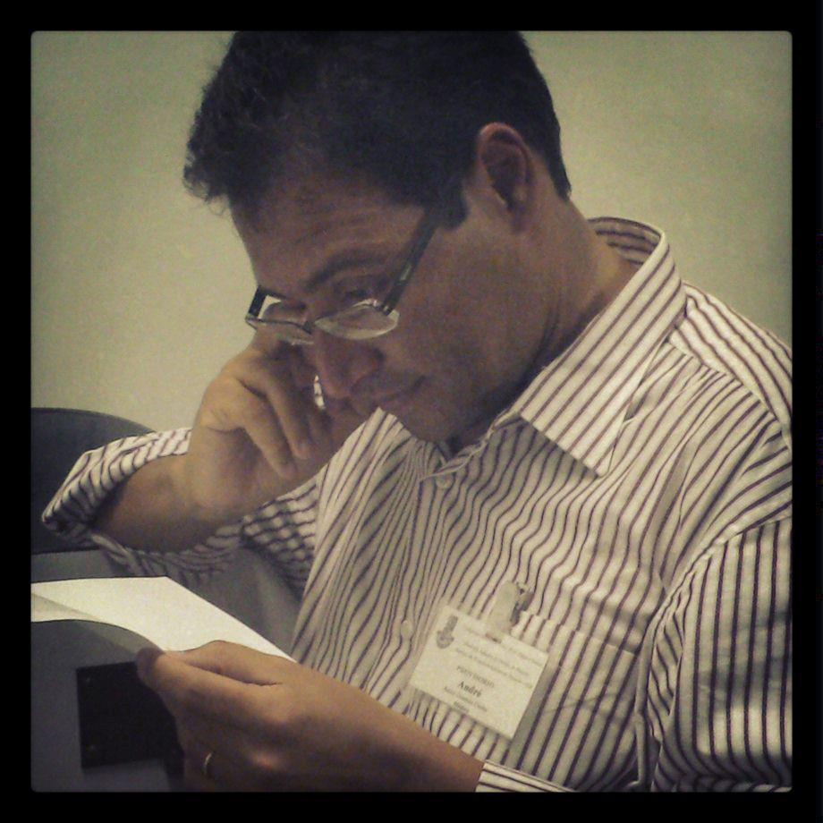 Carta ao mestre Dr. André Gusmão pelo seu aniversário!